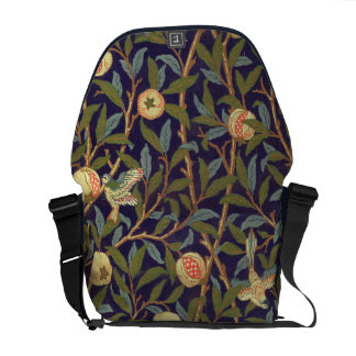 William Morris Bird And Pomegranate Messenger Bags