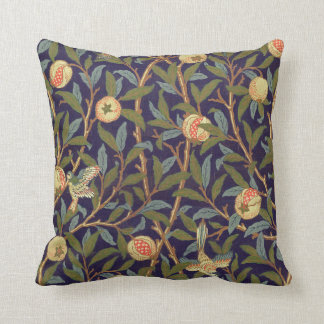 William Morris Bird And Pomegranate Throw Pillows