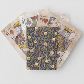 William Morris Bird And Pomegranate Bicycle Poker Cards