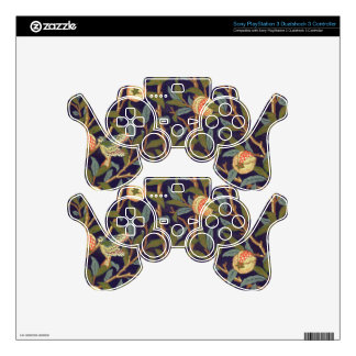 William Morris Bird And Pomegranate PS3 Controller Skins
