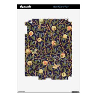 William Morris Bird And Pomegranate iPad 2 Decals