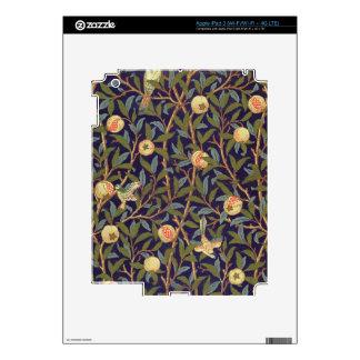 William Morris Bird And Pomegranate iPad 3 Skins