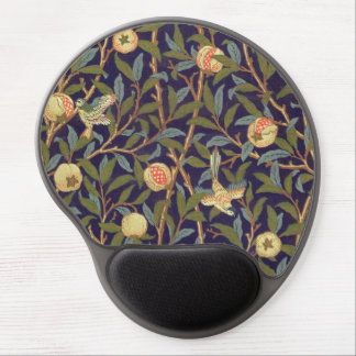 William Morris Bird And Pomegranate Vintage Art Gel Mouse Pad
