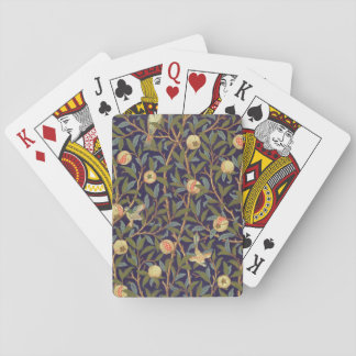 William Morris Bird And Pomegranate Vintage Art Playing Cards