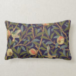 William Morris Bird And Pomegranate Vintage Floral Pillow