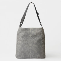 William Morris Bird and Vine Pattern Crossbody Bag