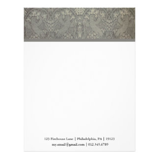William Morris Bird and Vine Pattern Letterhead