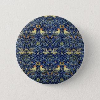 William Morris Bird Pattern Button