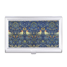 William Morris Bird Pattern Case For Business Cards