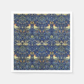 William Morris Bird Pattern Napkin