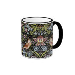 William Morris birds and flowers 2 Coffee Mugs