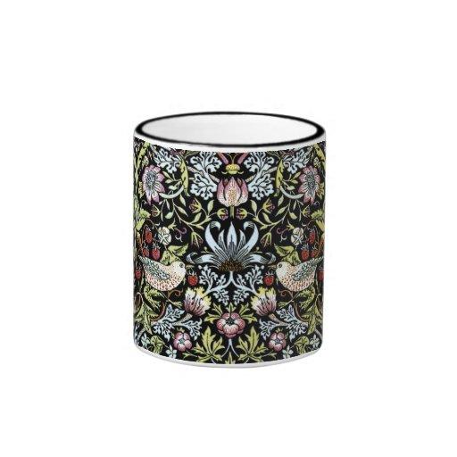 William Morris birds and flowers 2 Mugs