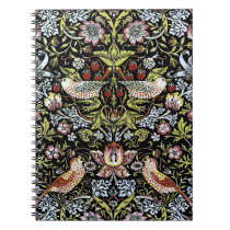William Morris birds and flowers 2 Notebook