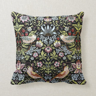 William Morris birds and flowers 2 Throw Pillow