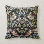William Morris birds and flowers 2 Throw Pillow