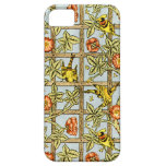 William Morris birds and flowers pattern iPhone 5 Cover