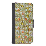 William Morris birds and flowers pattern iPhone 5 Wallet Cases