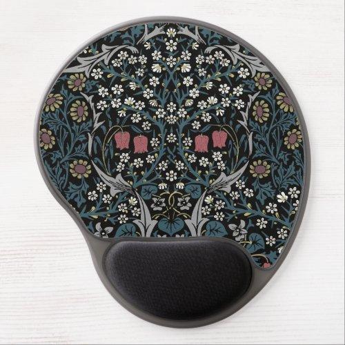 William Morris Blackthorn Floral Art Nouveau Gel Mouse Pad