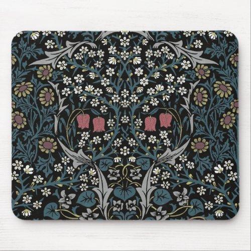 William Morris Blackthorn Floral Art Nouveau Mouse Pad