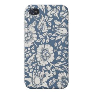 William Morris Blue Damask iPhone 4/4S Case