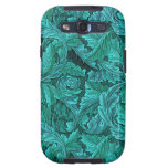 William Morris Blue Leaf Galaxy S3 Case