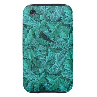 William Morris Blue Leaf iPhone 3 Tough Covers