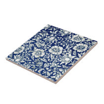 William Morris - Blue Mallow Tile