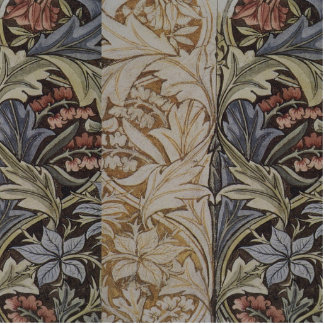 William Morris Bluebell Fabric Botanical Print Cutout