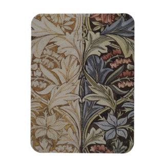 William Morris Bluebell Fabric Botanical Print Magnet