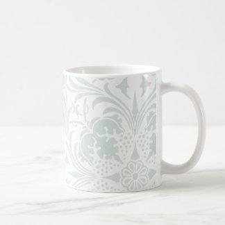 William Morris Borage Ceiling Paper in Blue Coffee Mug