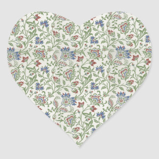 William Morris Brentwood Heart Sticker