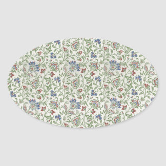 William Morris Brentwood Oval Sticker