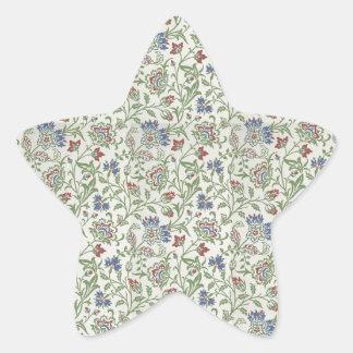 William Morris Brentwood Star Sticker