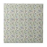 """William Morris Brentwood Tile<br><div class=""""desc"""">Brentwood design by William Morris. Beautiful floral design.</div>"""