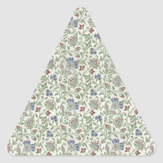 William Morris Brentwood Triangle Sticker
