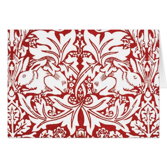 William Morris - Brer Rabbit Card