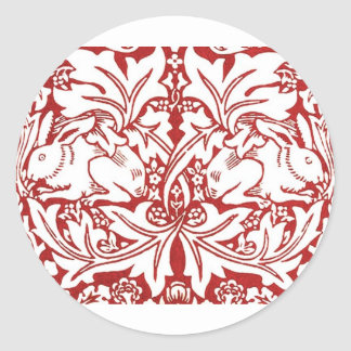 William Morris - Brer Rabbit Classic Round Sticker