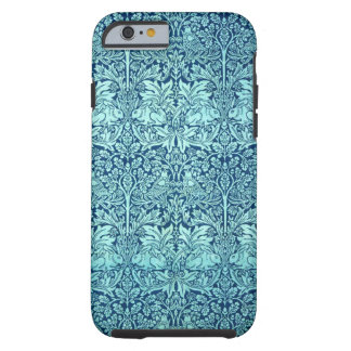 William Morris Brother Rabbit Pattern in Blue Tough iPhone 6 Case