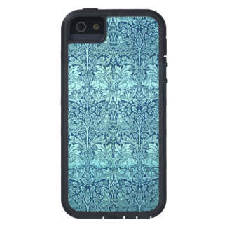 William Morris Brother Rabbit Pattern in Blue iPhone SE/5/5s Case