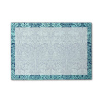 William Morris Brother Rabbit Pattern in Blue Post-it Notes