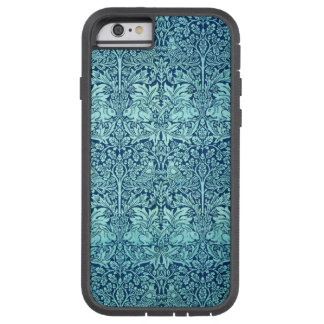 William Morris Brother Rabbit Pattern in Blue Tough Xtreme iPhone 6 Case