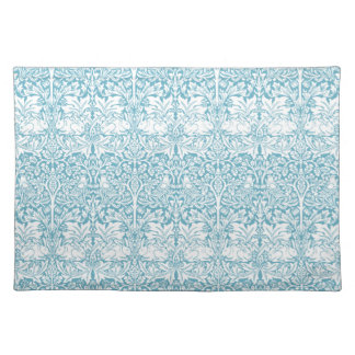 William Morris Brother Rabbit Pattern Placemat Cloth Placemat