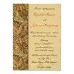 William Morris Brown deja la invitación del boda