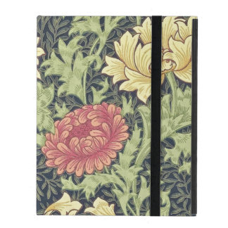 William Morris Chrysanthemum Vintage Floral Art iPad Case