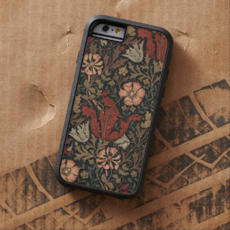 William Morris Compton Floral Design Vintage Art Tough Xtreme iPhone 6 Case