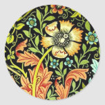 """William Morris """"Compton"""" Pegatina Redonda"""