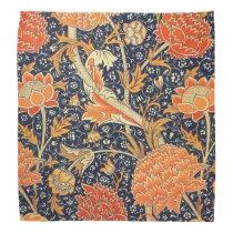 William Morris Cray Floral Art Nouveau Pattern Bandana
