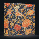 """William Morris Cray Floral Art Nouveau Pattern Binder<br><div class=""""desc"""">William Morris Cray Floral Art Nouveau Watercolor Pattern William Morris was an English textile designer, artist, writer, and socialist associated with the Pre-Raphaelite Brotherhood and British Arts and Crafts Movement. He founded a design firm in partnership with the artist Edward Burne-Jones, and the poet and artist Dante Gabriel Rossetti which...</div>"""