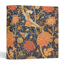 William Morris Cray Floral Art Nouveau Pattern Binder
