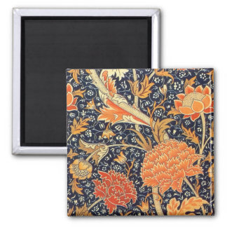 William Morris Cray Floral Art Nouveau Pattern Magnet